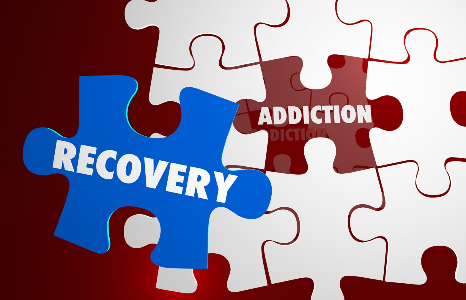Addiction Recovery Illustration